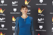 Actress Leonor Watling attends the Feroz cinema awards 2016 at the Duques de Pastrana Palace on January 23, 2017 in Madrid, Spain.