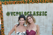 President of Veuve Clicquot USA Vanessa Kay (L) and Delfina Blaquier attend the Fifth-Annual Veuve Clicquot Polo Classic at Will Rogers State Historic Park on October 11, 2014 in Pacific Palisades, California.