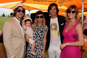 Roger Berman, Skyler Berman, Rachel Zoe, Nacho Figueras and Delfina Blaquier pose at the VIP Marquee during the fifth Annual Veuve Clicquot Polo Classic on June 2, 2012 in Jersey City.