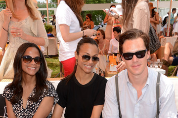 Cisely Saldana The Fifth Annual Veuve Clicquot Polo Classic - VIP Marquee