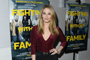 """Kim Matula attends """"Fighting With My Family"""" Los Angeles Tastemaker Screening at The London Hotel on February 20, 2019 in West Hollywood, California."""
