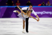 Aljona Savchenko and Bruno Massot of Germany compete during the Pair Skating Short Program on day five of the PyeongChang 2018 Winter Olympics at Gangneung Ice Arena on February 14, 2018 in Gangneung, South Korea.