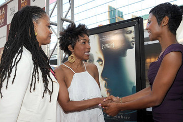 """Ava DuVernay Emayatzy Corinealdi  Film Independent's 2012 Los Angeles Film Festival Premiere Of AFFRM & Participant Media's """"Middle Of Nowhere"""" - Red Carpet"""