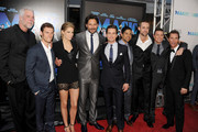 "(L-R) Actors Kevin Nash, Alex Pettyfer, Cody Horn, Joe Manganiello, Matt Bomer, Adam Rodriguez, writer/producer Reid Carolin, actors Channing Tatum, and Matthew McConaughey arrive at the premiere of Warner Bros. Pictures' ""Magic Mike"" during the 2012 Los Angeles Film Festival at Regal Cinemas L.A. Live on June 24, 2012 in Los Angeles, California."