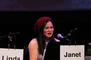 "Kelly Marie Tran speaks onstage during Film Independent presents live read Of ""Singles"" at Wallis Annenberg Center for the Performing Arts on November 05, 2019 in Beverly Hills, California."