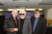 Pedro Almodovar, John Waters and Michael Moore attend the Film Society Of Lincoln Center's 50th Anniversary Gala at Lincoln Center on April 29, 2019 in New York City.