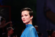 Sylvia Hoeks walks the Filming In Italy red carpet during the 76th Venice Film Festival at Sala Grande on September 01, 2019 in Venice, Italy.