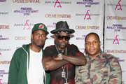 DJ Kay Gee, Treach and Vin Rock of Naughty By Nature attend Finding Ashley Stewart 2018 at Kings Theatre on September 15, 2018 in Brooklyn, New York.