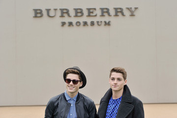 Finn Harries Arrivals at the Burberry Mens Runway Show — Part 2
