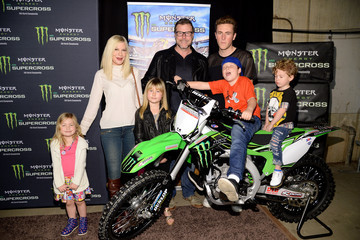 Finn McDermott Monster Energy Supercross Celebrity Night at Angel Stadium Anaheim