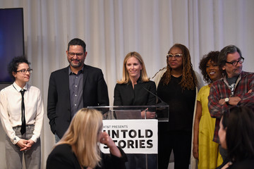Fiona Carter AT&T And Tribeca Host 2nd Annual Luncheon For 'AT&T Presents: Untold Stories. An Inclusive Film Program In Collaboration With Tribeca'