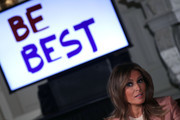 First Lady Melania Trump Hosts Interagency Meeting To Align Youth Programs With Her Be Best Initiative