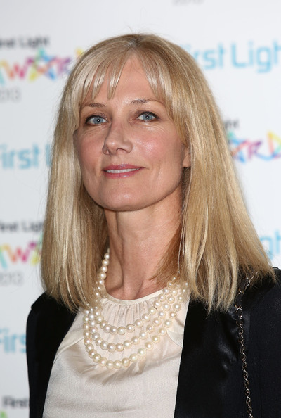 Joely Richardson Attends The First Light Awards At Odeon Leicester