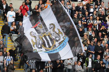 Flag Newcastle United v Manchester City