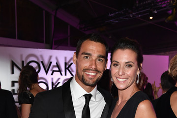 Flavia Pennetta Tennis Meets Fashion at the Milano Gala Dinner Benefitting the Novak Djokovic Foundation Presented by Giorgio Armani