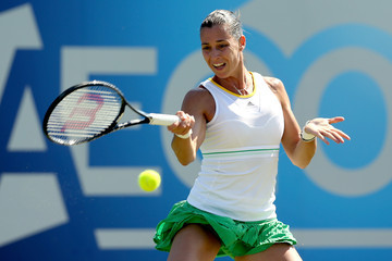 Flavia Pennetta Aegon International: Day 5