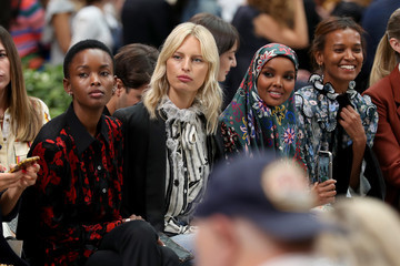 Flaviana Matata Tory Burch NYFW SS20 - Backstage And Front Row