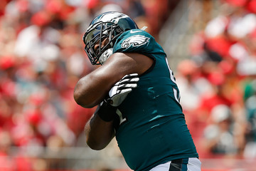 Fletcher Cox Philadelphia Eagles vs. Tampa Bay Buccaneers