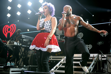 Flo Rida Stacy Performances at the Jingle Ball in Miami