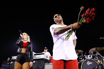 Flo Rida Pepsi Encourages Fans to #SayItWithPepsi at Los Angeles Angels Game in Anaheim in Celebration of PepsiMoji Campaign