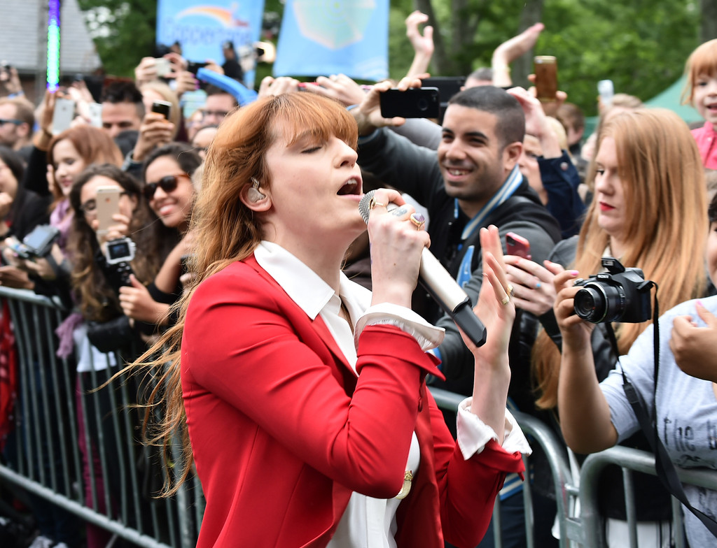 Good Morning America Abc : Florence welch photos and the machine on