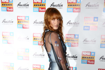 Florence Welch NME Awards - Red Carpet Arrivals