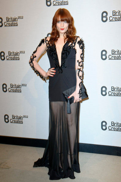 Florence Welch - Britain Creates 2012: Fashion & Art Collusion - VIP Gala