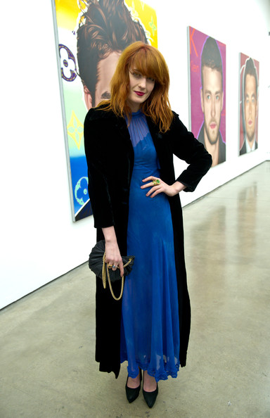 Florence Welch - Richard Phillips 'Most Wanted' Exhibition