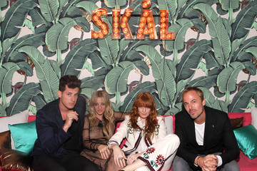 Florence Welch Absolut Elyx Hosts Mark Ronson's Grammy's Afterparty At Elyx House Los Angeles