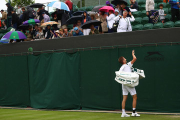 Florian Mayer Day Two: The Championships - Wimbledon 2016