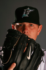 Dan Meyer Florida Marlins Photo Day