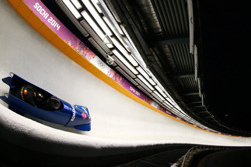 Florin Craciun Bobsleigh - Winter Olympics Day 10