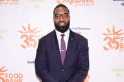 Former NFL player Chris Canty attends the Food Bank for New York City's Can Do Awards Dinner at Cipriani Wall Street on April 17, 2018 in New York City.