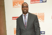 NFL football player Chris Canty attends the Food Bank For New York City Can Do Awards Dinner Gala at Cipriani Wall Street on April 21, 2015 in New York City.