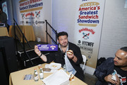 TV Personality Adam Richman attends America's Greatest Sandwich Showdown presented by Goldbelly hosted by Adam Richman and Joe Ariel during the New York City Wine and Food Festival at Highline Stages on October 13, 2019 in New York City.