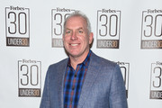 Forbes CMO Tom Davis attends the Forbes 30 Under 30 2017 Party at Forbes on Fifth on January 24, 2017 in New York City.