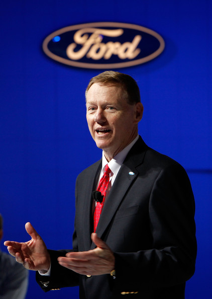 What does alan do and why does it matter the auto industry for Ford motor company alan mulally