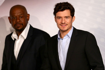Forest Whitaker Orlando Bloom 'Zulu' Press Conference in Cannes