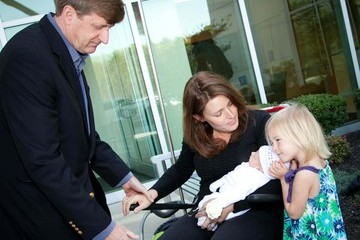 Amy Petitgout Former Rhode Island U.S. Rep. Patrick Kennedy And His Wife Amy Petitgout Leave The AtlantiCare Regional Medical Center With Their Newborn Son, Owen Patrick Kennedy