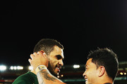 Issac Luke and Greg Inglis Photos Photo