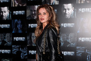 Kierston Wareing attends the UK premiere of 'Four' at The Empire Cinema on October 10, 2011 in London, England.
