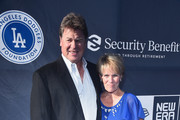 Rick Honeycutt and Debbie Honeycutt attend the Fourth Annual Los Angeles Dodgers Foundation Blue Diamond Gala at Dodger Stadium on June 11, 2018 in Los Angeles, California.