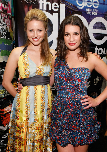 dianna agron and lea michele. Dianna Agron Actress Dianna