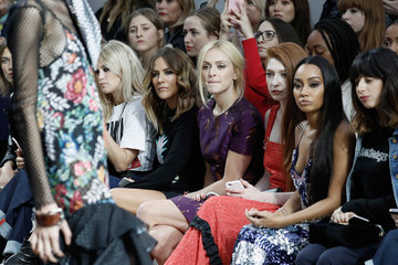 Foxes Front Row & Arrivals - Day 2 - LFW September 2016