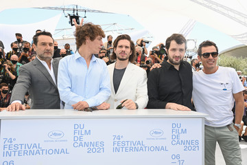 """François Civil Cyril Lecomte """"Bac Nord"""" Photocall - The 74th Annual Cannes Film Festival"""