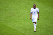 Wilson Palacios of Honduras leaves the field after being sent off during the 2014 FIFA World Cup Brazil Group E match between France and Honduras at Estadio Beira-Rio on June 15, 2014 in Porto Alegre, Brazil.