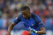Patrice Evra of France in action during the UEFA EURO 2016 quarter final match between France and Iceland at Stade de France on July 3, 2016 in Paris, France.