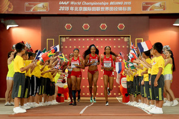 Francena McCorory 15th IAAF World Athletics Championships Beijing 2015 - Day Nine
