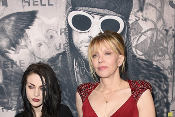 Frances Bean Cobain Premiere Of HBO Documentary Films' 'Kurt Cobain: Montage Of Heck' - Arrivals