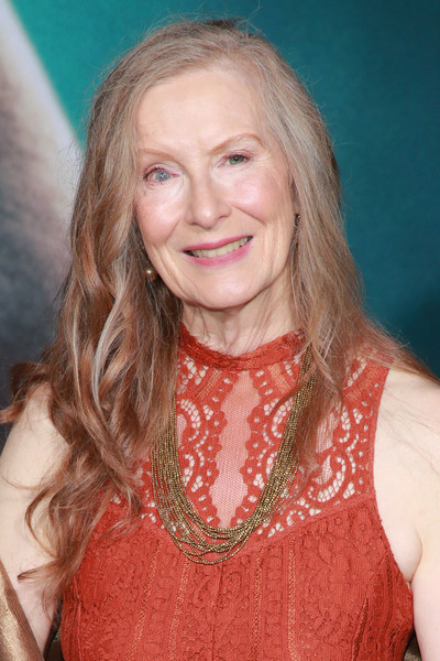 Premiere Of Warner Bros Pictures 'Joker' - Arrivals [hair,face,blond,hairstyle,eyebrow,long hair,layered hair,premiere,brown hair,feathered hair,arrivals,frances conroy,hollywood,california,warner bros pictures ``joker,premiere,premiere]